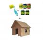 Kit Pintura + Mini Casinha (brinde)