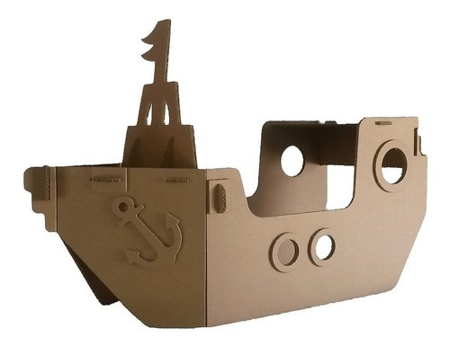 Barco de Papelão