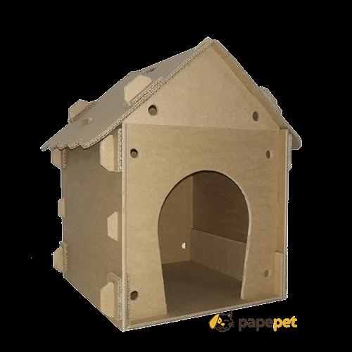 Casinha de Papelão para cachorro