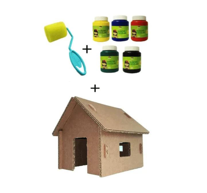 Kit Pintura + Mini Casinha