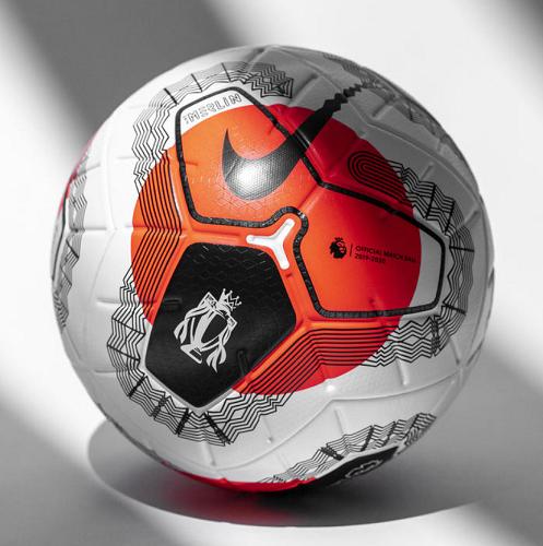 Bola Nike Premier League Tunnel Vision Merlin ACC Profissional de jogo