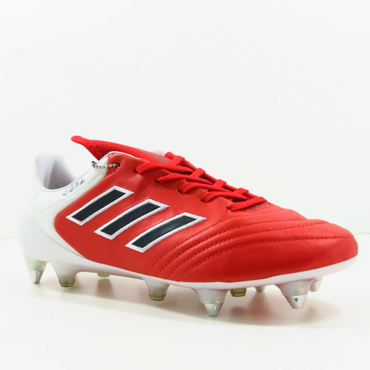 Chuteira Adidas Copa 17.1 SG Trava Mista - Couro de Canguru