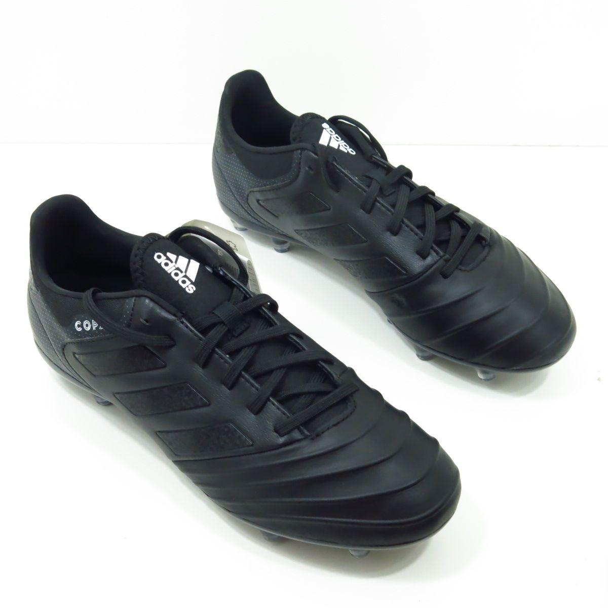 Chuteira Adidas Copa 18.2 FG - Blackout Couro