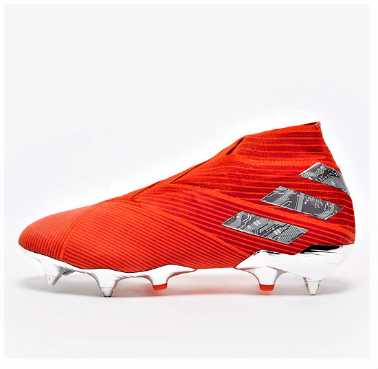 Chuteira adidas Nemeziz 19+ SG Elite - Trava MIsta
