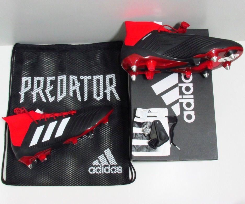 Chuteira adidas Predator 18.1 SG - Trava Mista