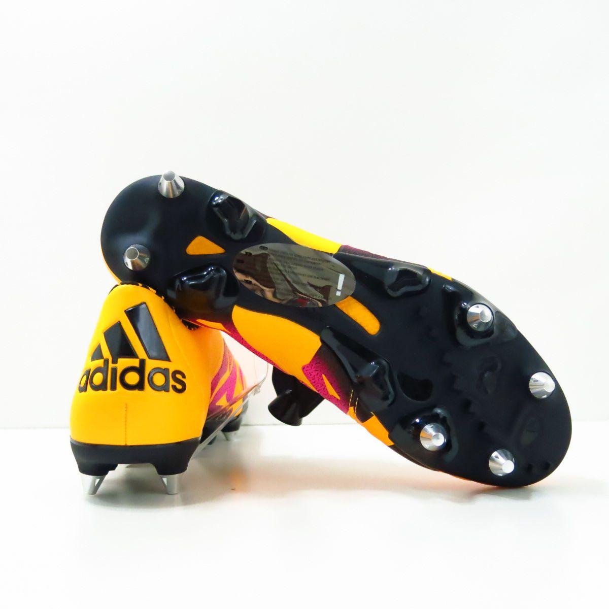 Chuteira Adidas X 15.1 SG - Trava Mista Couro de Canguru