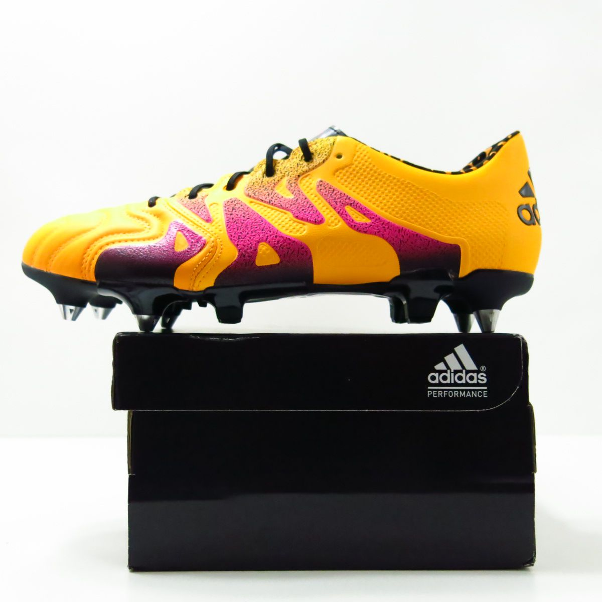 Chuteira Adidas X 15.1 Sg Trava Mista - Couro de Canguru