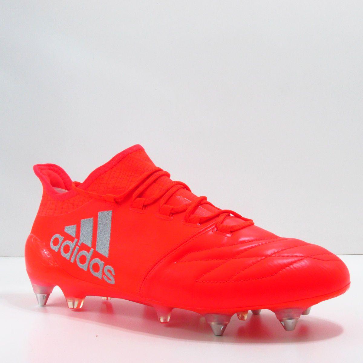 Chuteira Adidas X 16.1 SG Trava Mista - Couro de Canguru