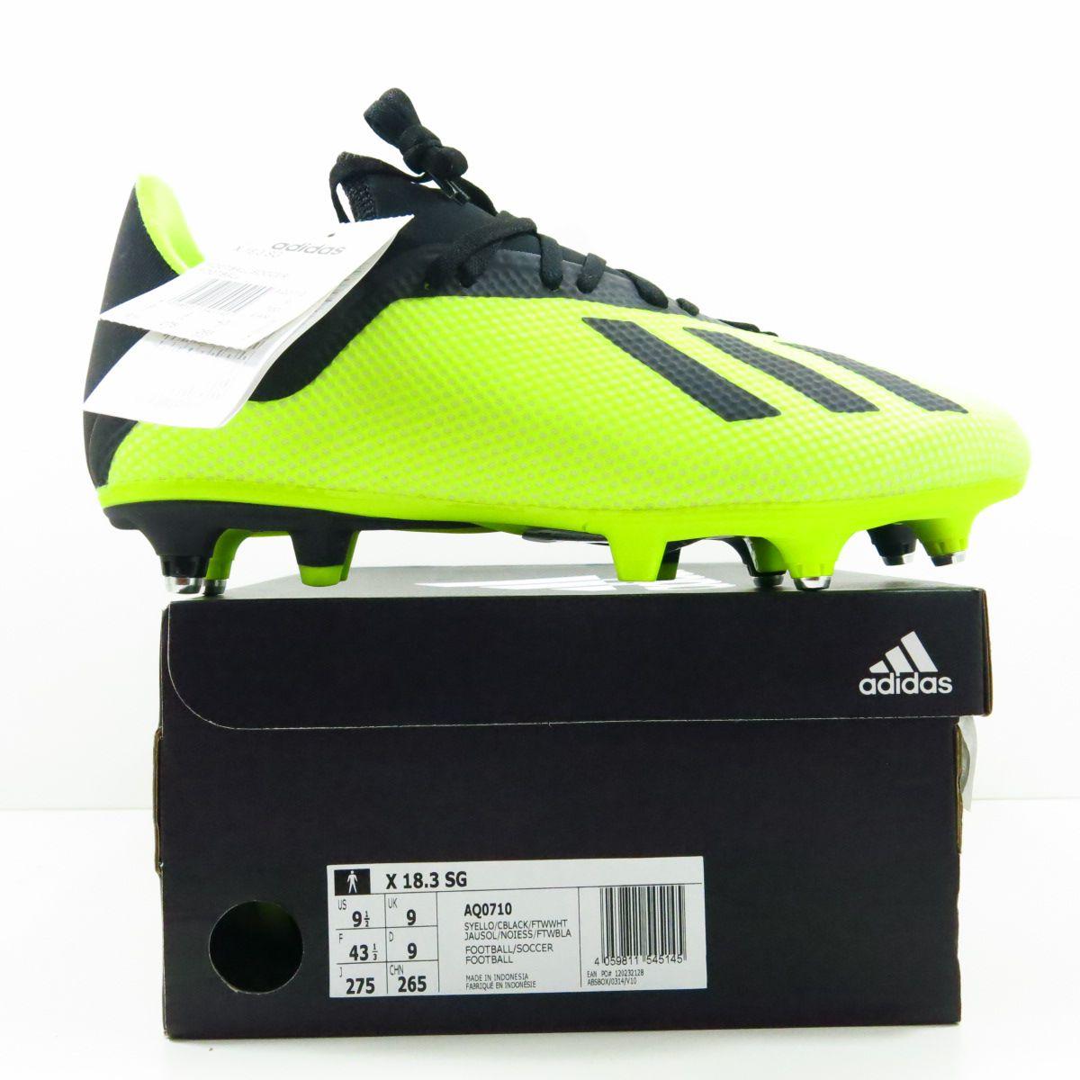 Chuteira Adidas X 18.3 SG - Trava Mista