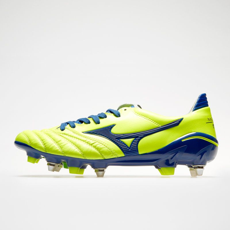 Chuteira Mizuno Morelia Neo II Made in Japan SG Trava Mista - Couro de Canguru