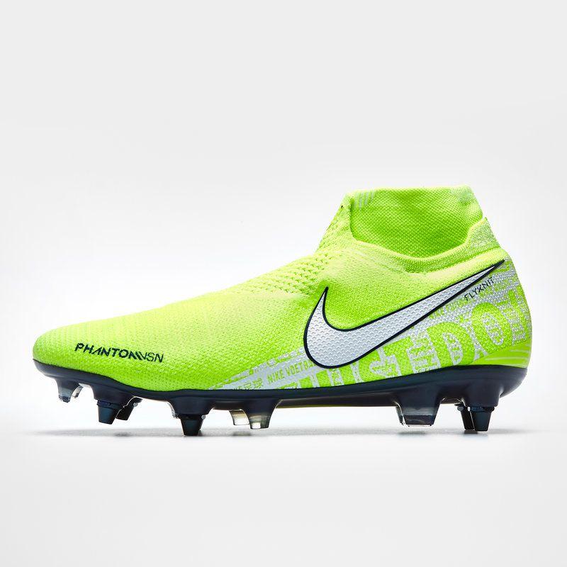 Chuteira Nike Phantom Vision Elite D-Fit SG-Pro - Trava Mista