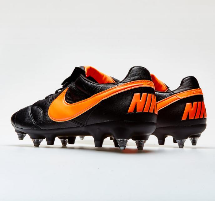 Chuteira Nike Tiempo Premier SG - Trava MIsta Couro de Canguru