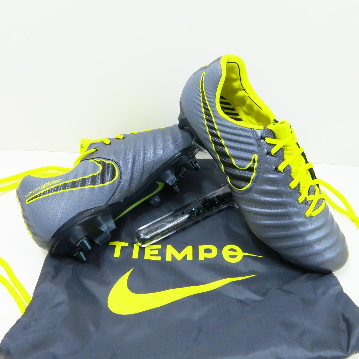 Chuteira Nike Tiempo Legend 7 Elite SG Trava Mista - Couro de Canguru