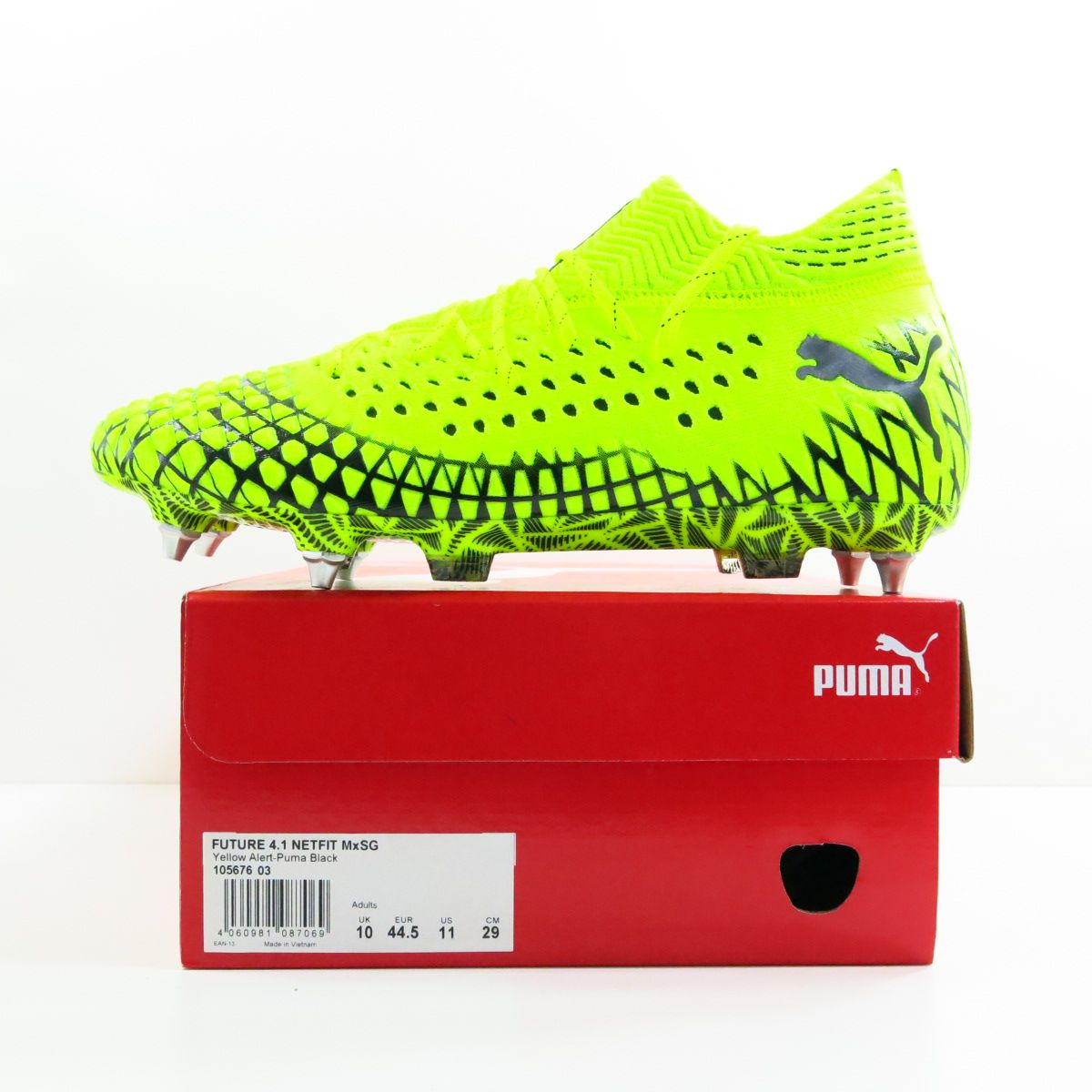 Chuteira Puma Future 4.1 Netfit Mx SG - Trava MIsta