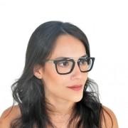 Armação De Óculos De Grau Ponte Dupla Acetato E Metal