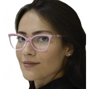 Armação De Óculos De Grau Feminino Gatinho Acetato