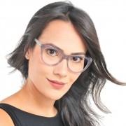 Armação de oculos feminino Cat Eye acetato