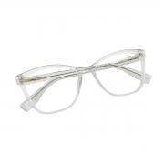 armação de oculos transparente em acetato Shades Brasil