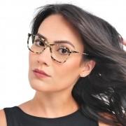 Armação oculos feminino pequena Shades Brasil