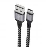 Cabo USB Tipo C reforçado 1.5 metros