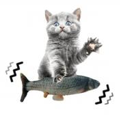 Peixe elétrico brinquedo para gatos