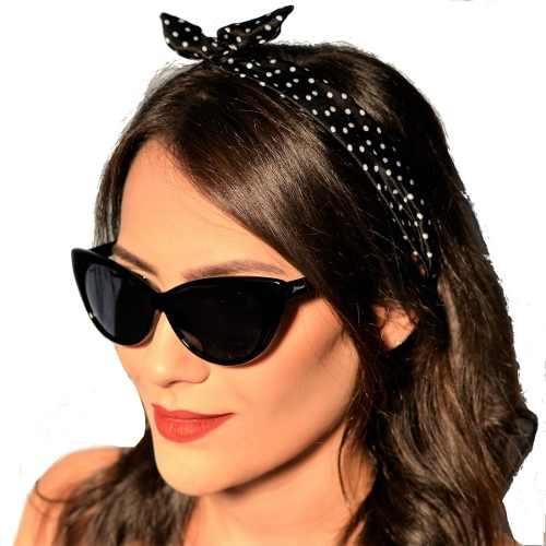 Óculos De Sol Gatinho Retrô