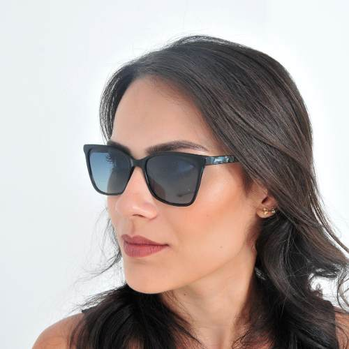 Óculos De Sol Feminino Polarizado Acetato