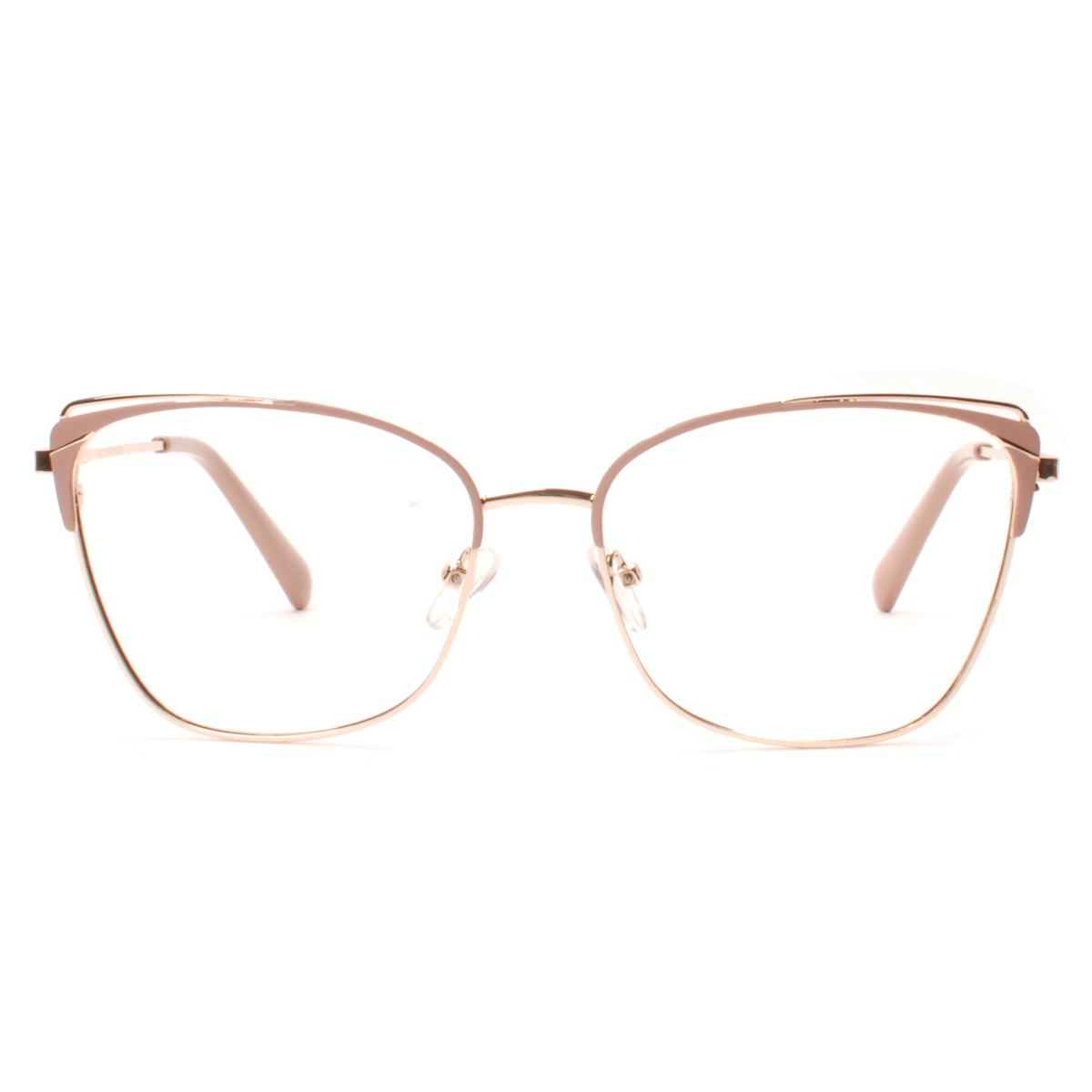 armação de óculos de grau feminino tendência