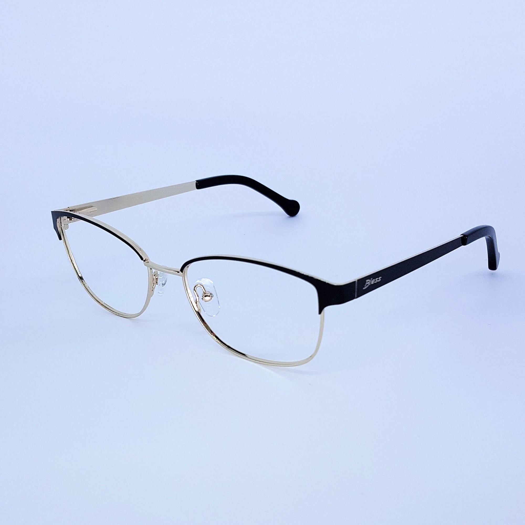 Armação De Óculos De Grau Metal Feminino Bless