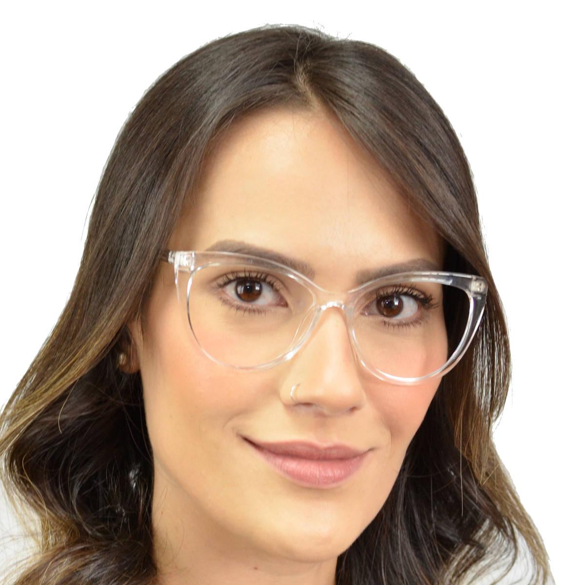 Armação de óculos feminino gatinho Shades Brasil