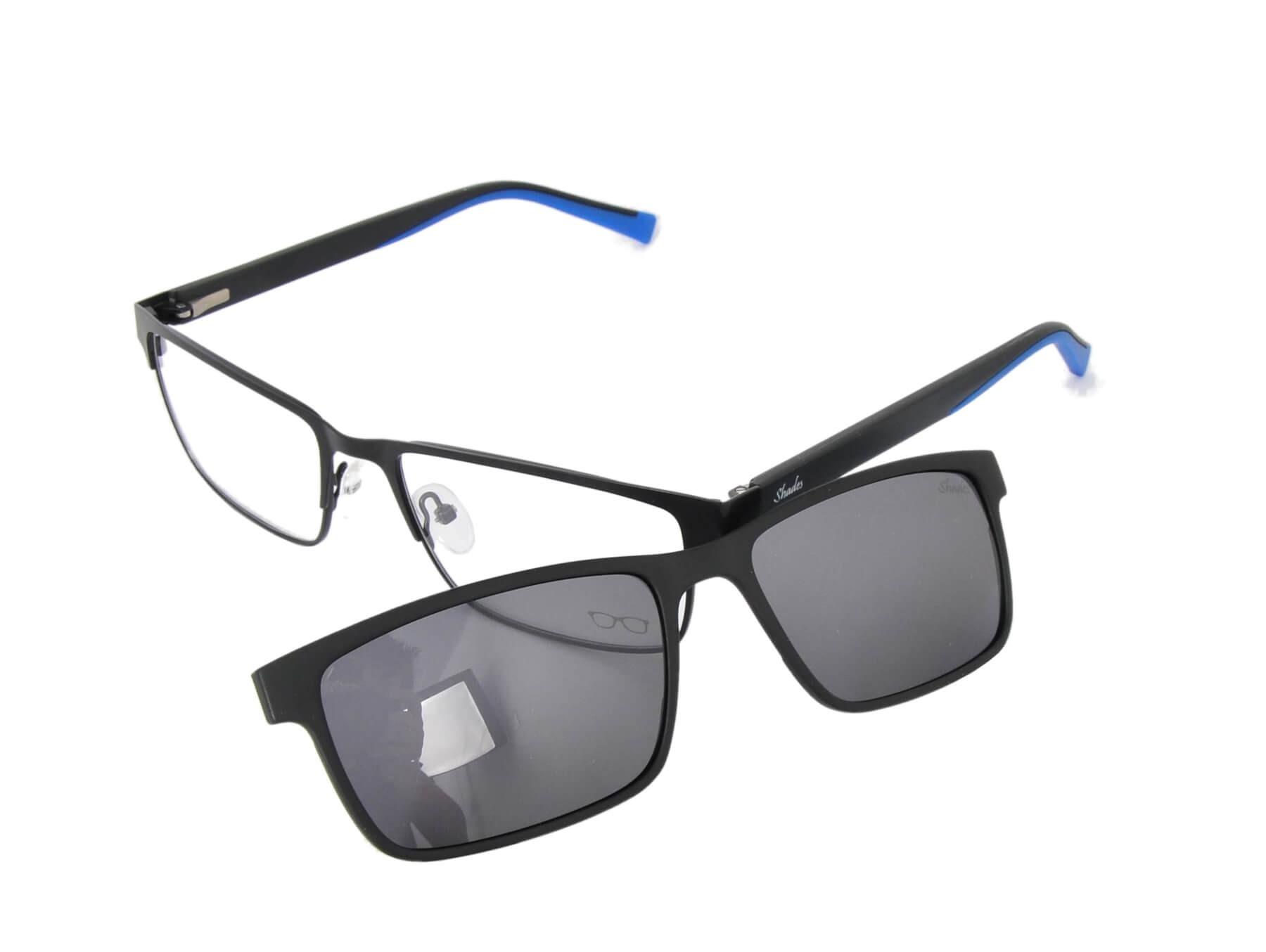 Oculos masculino com Clip on solar
