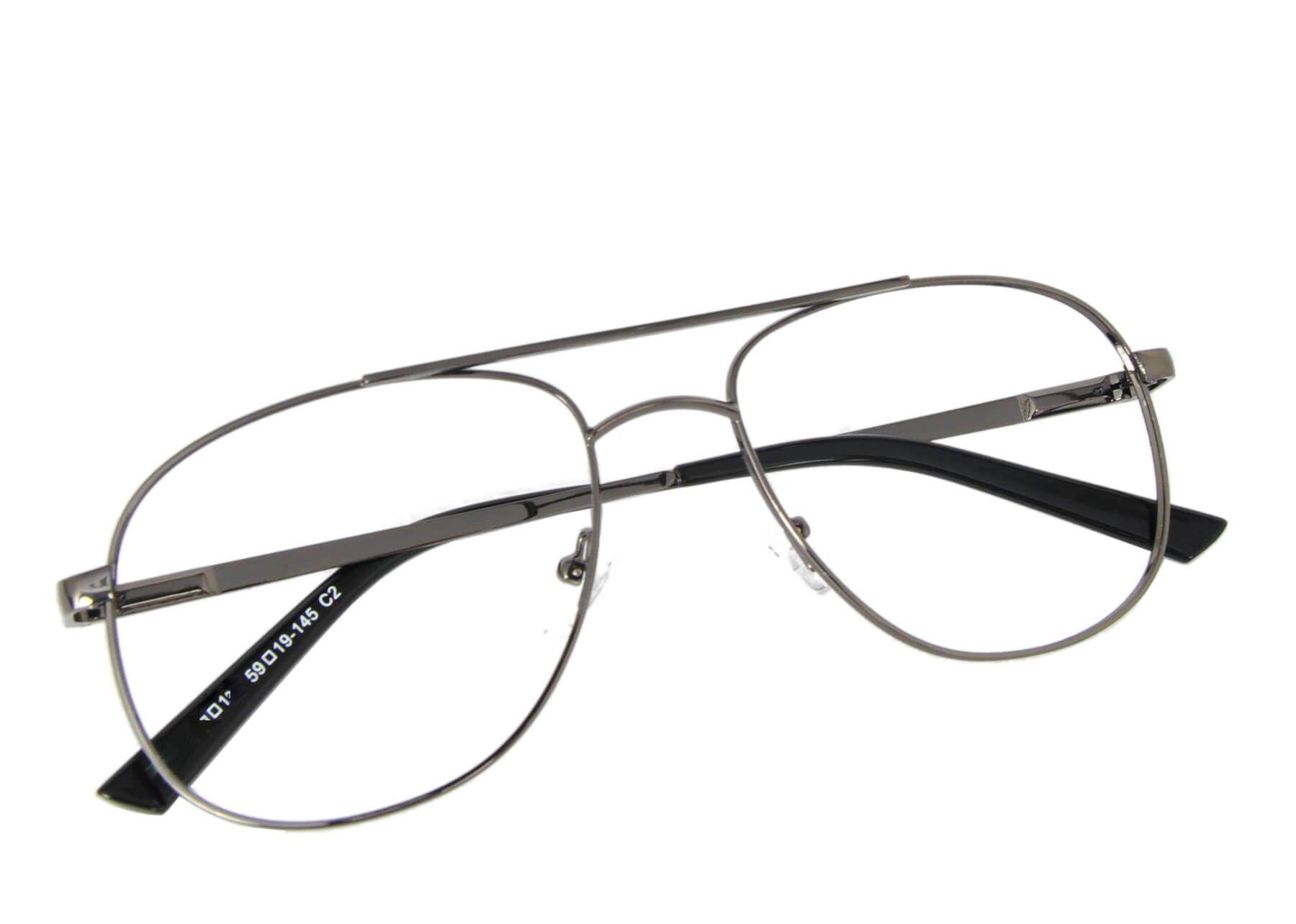 Armação óculos metal grande
