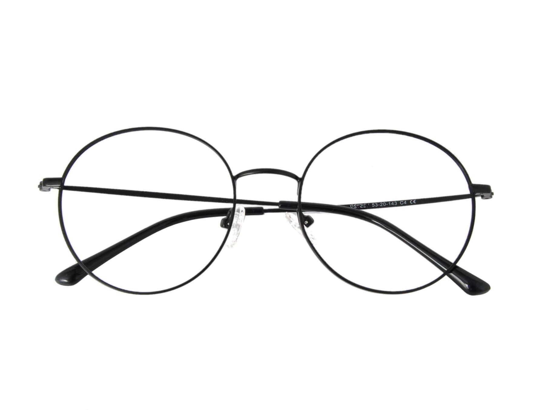 Óculos de grau metal redondo