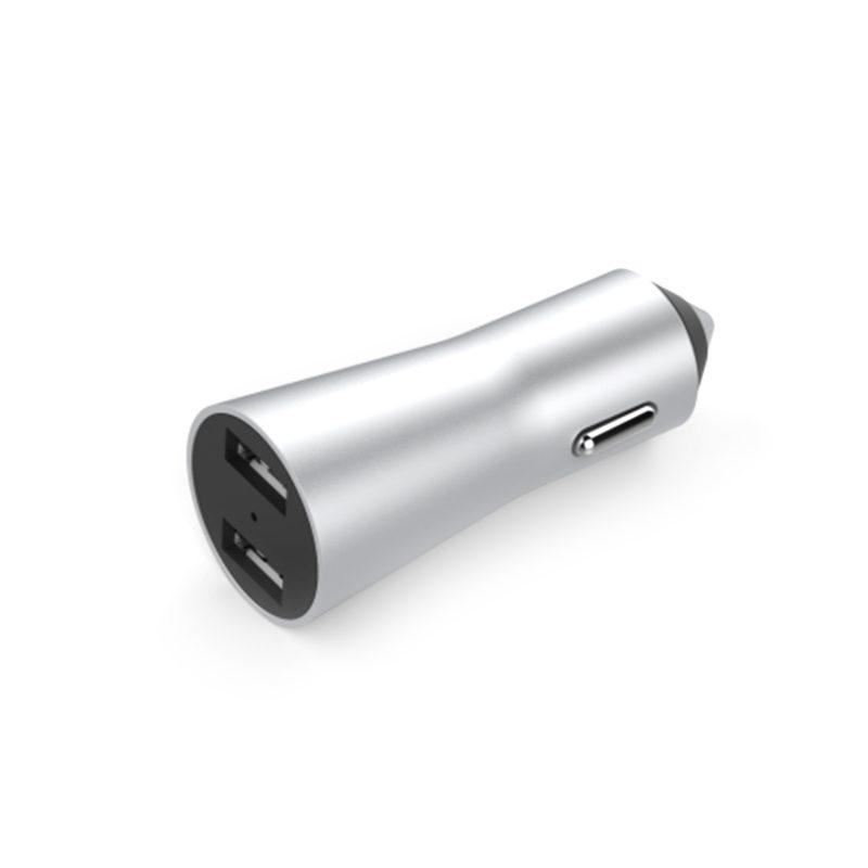 carregador de celular veicular 2 saídas USB 3.4a