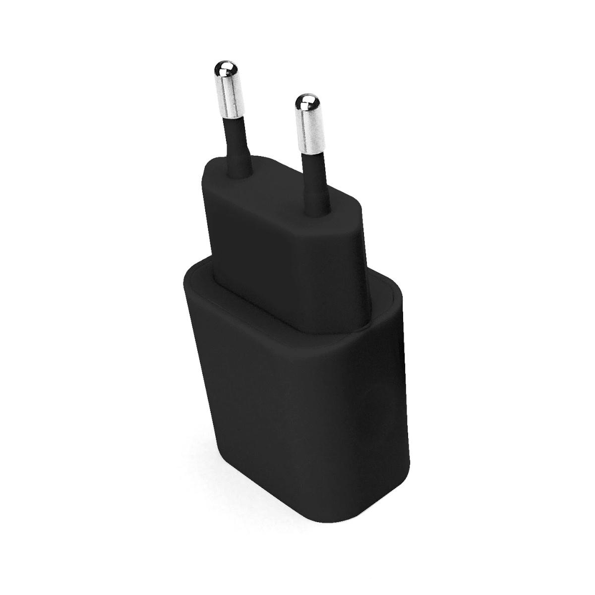 Carregador de parede universal  2 portas USB Preto Geonav