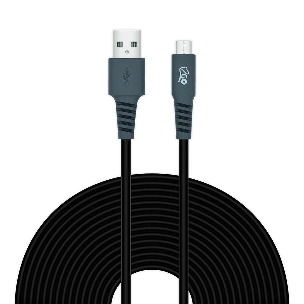 Carregador veicular smart charge 3,4A 2 USB + Cabo USB-C 3 metros