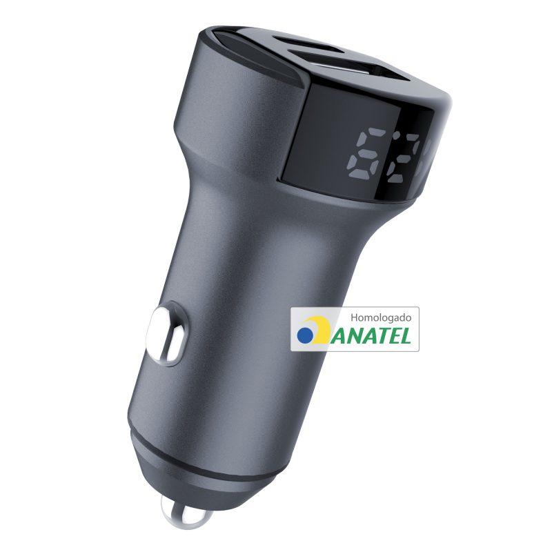 Carregador Veicular Ultra rápido – SuperPower 36W
