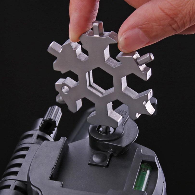 Chave de fenda floco de neve ferramenta universal 18 em 1