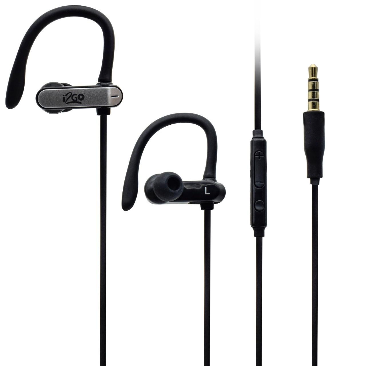 Fone De Ouvido Sport Com Microfone E Controle Multimídia 1,2m Preto