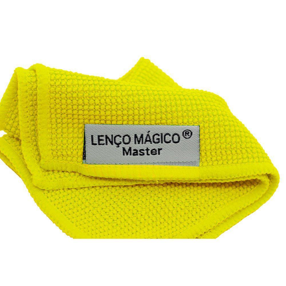 Lenço mágico master 15x15 cm - 3 unidades