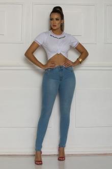 Calça Jeans TXC Feminina SKINNY XF SOFT