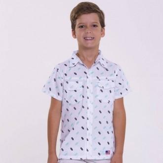 Camisa Infantil TXC 17033I