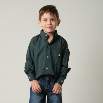 Camisa Infantil TXC 17056I