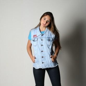 Colete Jeans Feminino TXC 5028F