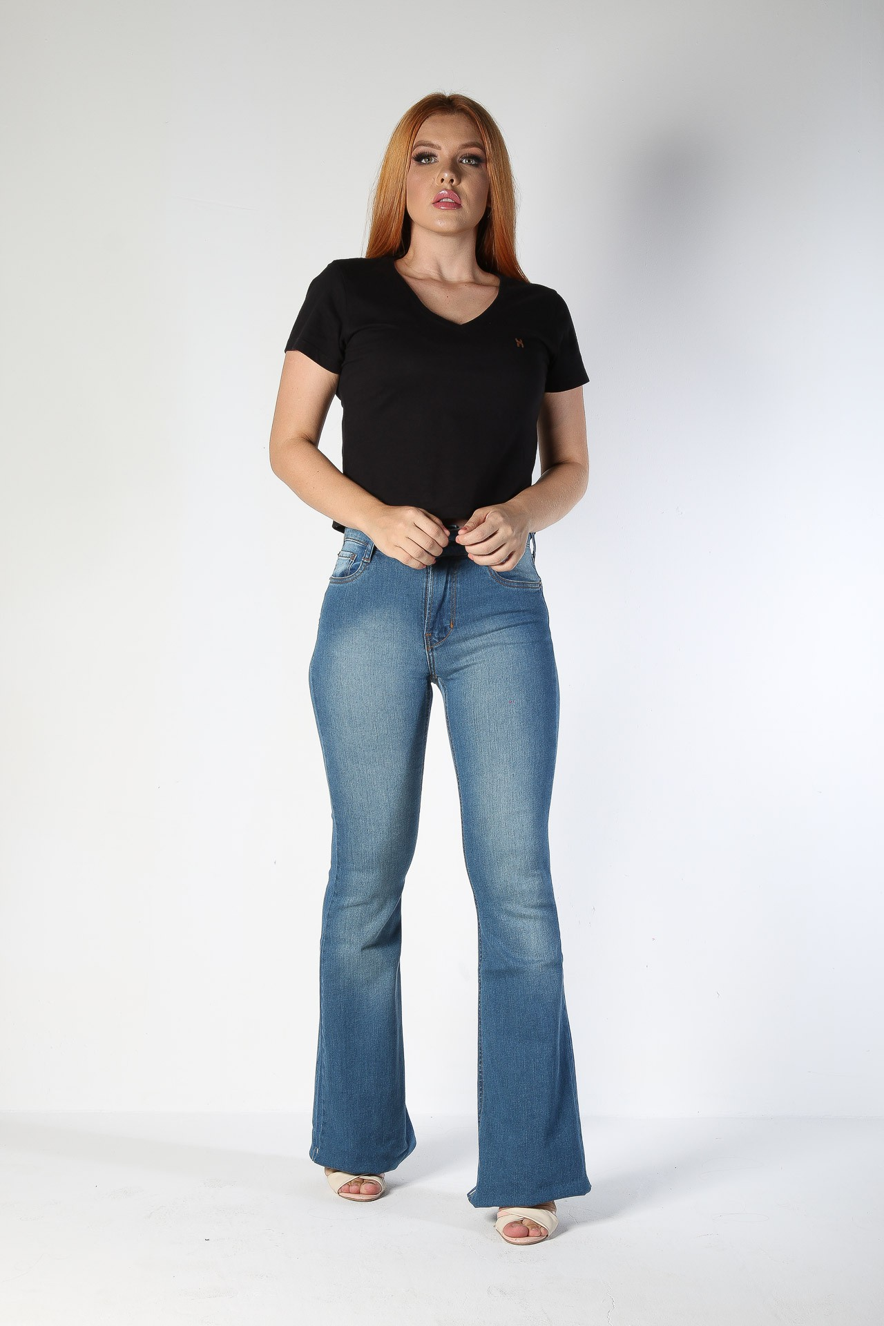 Calça Jeans TXC Feminina FLARE XF USED