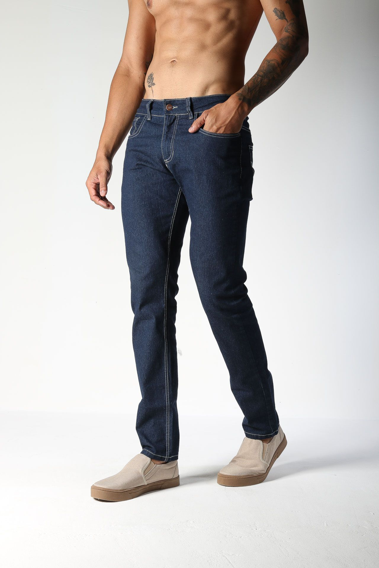 Calça Jeans TXC Masculina REGULAR AMACIADA 3% ELASTANO