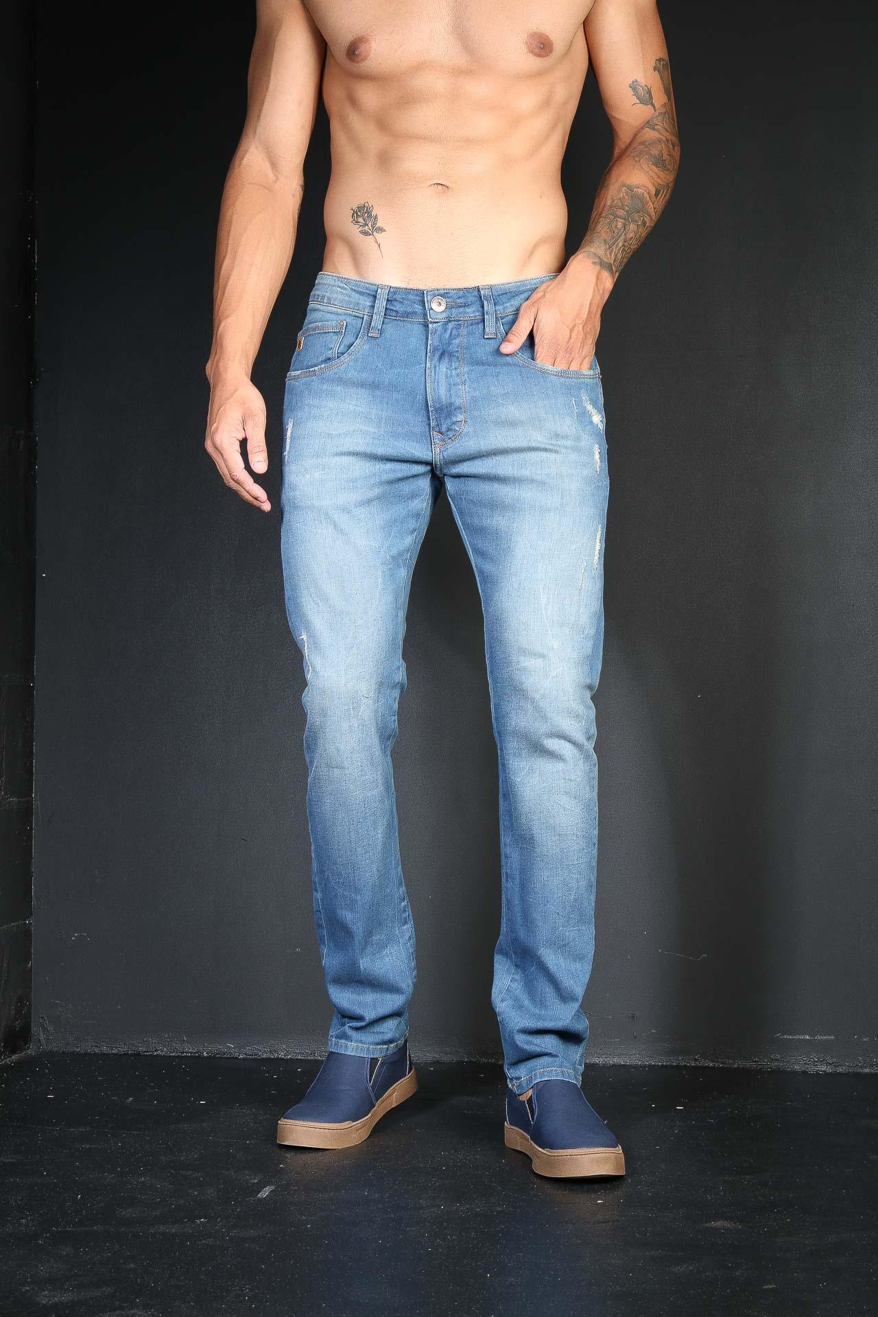 Calça Jeans TXC Masculina XS DENIM SLIM LIGHT