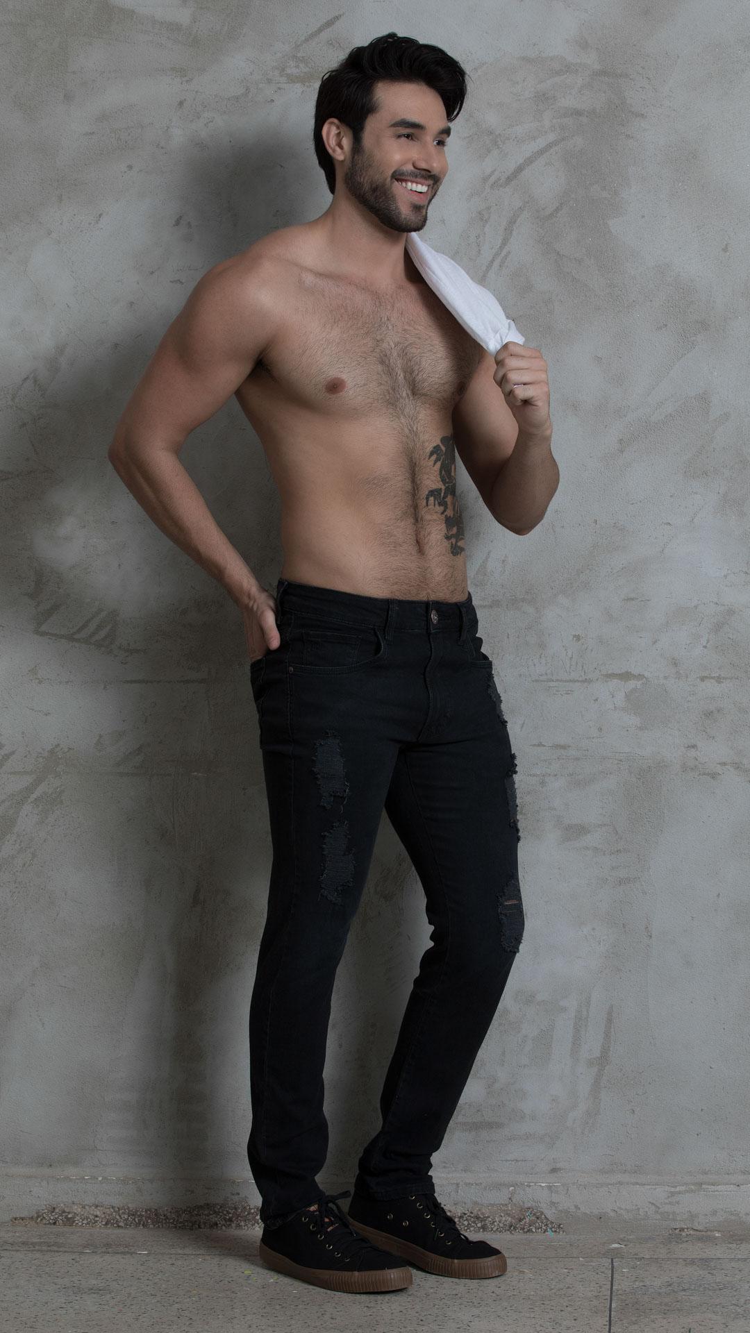 Calça Jeans TXC Masculina XS EXTRA BLACK