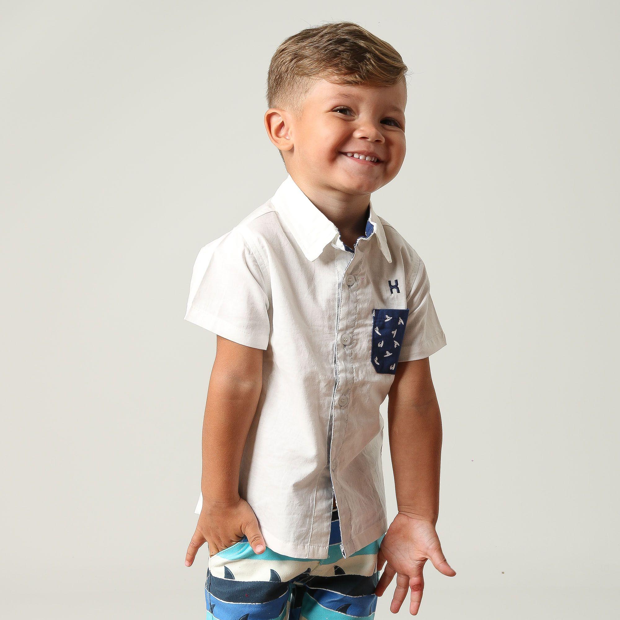 Camisa Infantil TXC 17039I