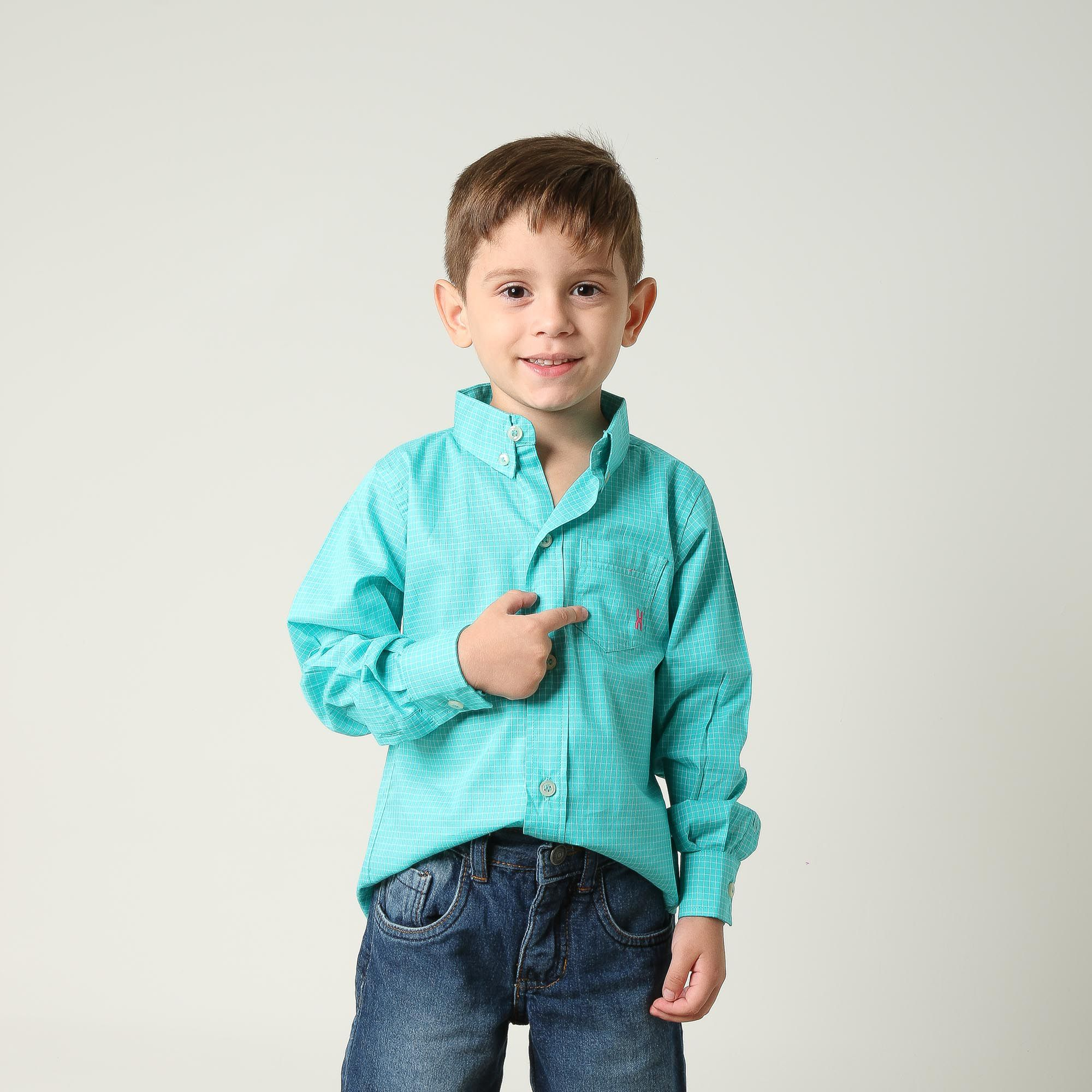 Camisa Infantil TXC 17060I